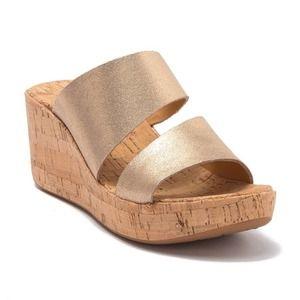 Korks Deltona Cork Slide Sandals size 10